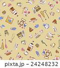 食器類のイラストパターン, 24248232