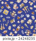 食器類のイラストパターン, 24248235