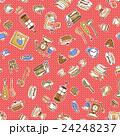 食器類のイラストパターン, 24248237