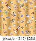 食器類のイラストパターン, 24248238