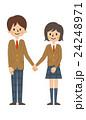 高校生カップル【シンプルキャラ・シリーズ】 24248971