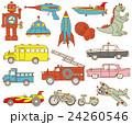 昔のブリキのおもちゃ 日本の昭和時代 24260546