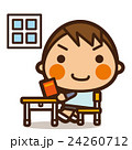 小学生 男子 男の子のイラスト 24260712