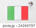 イタリア国旗 24260797