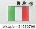 イタリア国旗 24260799