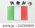 イタリア国旗 24260800