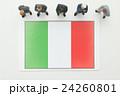イタリア国旗 24260801
