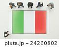 イタリア国旗 24260802