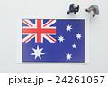 オーストラリア国旗 24261067
