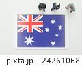 オーストラリア国旗 24261068