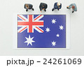 オーストラリア国旗 24261069