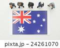 オーストラリア国旗 24261070