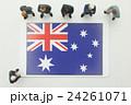 オーストラリア国旗 24261071