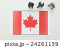 カナダ国旗 24261139