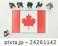 カナダ国旗 24261142