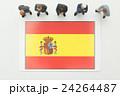 スペイン国旗 24264487