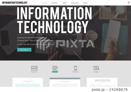 Information Technology Advanced Innovation Conceptの写真素材 [24268676] - PIXTA