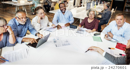Meeting Sharing Brainstorming Analysis Opinion Concept 24270601