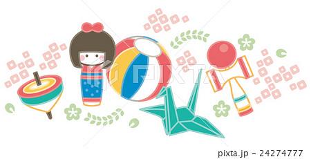 日本 伝統 おもちゃ 24274777