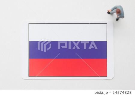 ロシア国旗 24274828