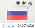 ロシア国旗 24274830