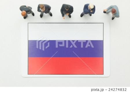 ロシア国旗 24274832