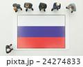 ロシア国旗 24274833
