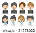 学生のセット【シンプルキャラ・シリーズ】 24278022