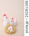 鶏 酉 卵の写真 24281166