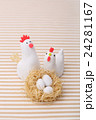 鶏 酉 卵の写真 24281167