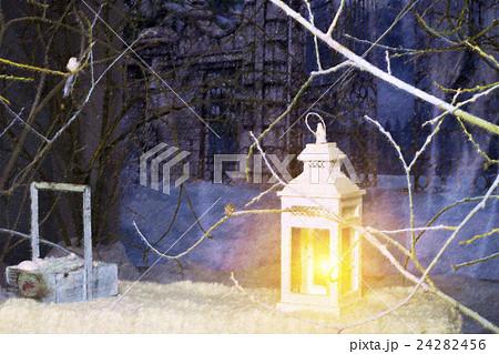 Interior Christmas decorのイラスト素材 [24282456] - PIXTA