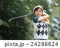 Japanese woman golfer , housewife 24286624