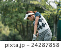 Japanese woman golfer , housewife 24287858