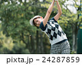 Japanese woman golfer , housewife 24287859