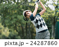 Japanese woman golfer , housewife 24287860