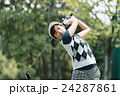 Japanese woman golfer , housewife 24287861