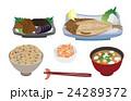 定食 料理 和食のイラスト 24289372