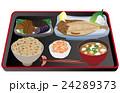 定食 料理 和食のイラスト 24289373
