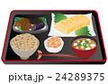 料理 和食 日本食のイラスト 24289375