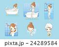 お風呂 浴室 風呂のイラスト 24289584