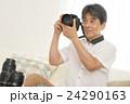 男性 人物 カメラの写真 24290163