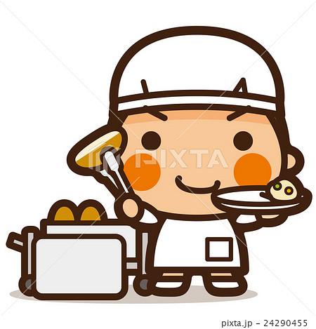 がっこうKids 給食当番男子 24290455
