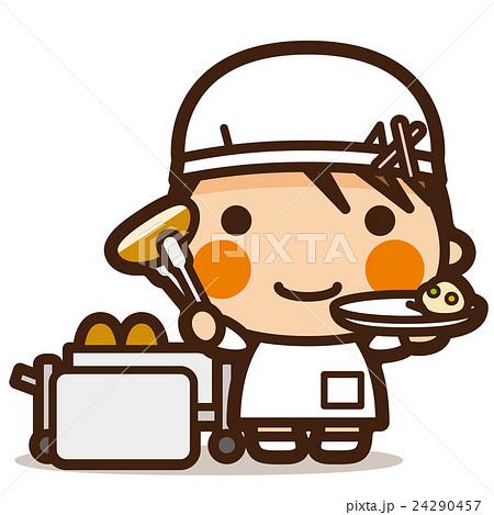 がっこうKids 給食当番女子 24290457