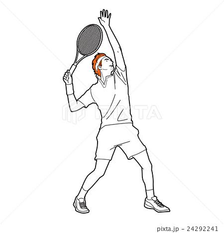 テニス イラスト 24292241