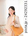 女性 妊婦 マタニティの写真 24292331