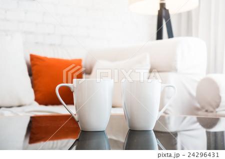 White coffee cupの写真素材 [24296431] - PIXTA