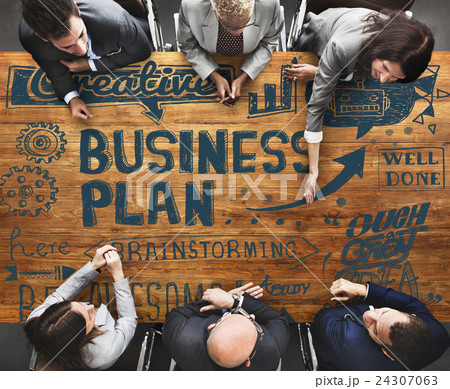 Business Plan Operation Strategy Vision Conceptの写真素材 [24307063] - PIXTA