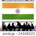 India Flag Patriotism Indian Pride Unity Concept 24308322