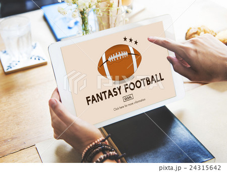 Fantasy Football Entertainment Game Play Sport Conceptの写真素材 [24315642] - PIXTA