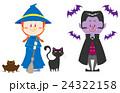 魔女 ヴァンパイア 仮装のイラスト 24322158